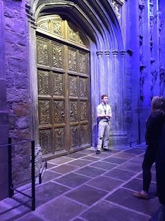 Harry Potter studio tour Leavesden Great Hall Doors