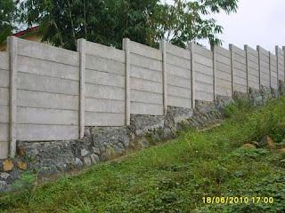 pagar panel beton murah