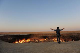6 Fakta 'Gerbang Neraka' Di Turkmenistan