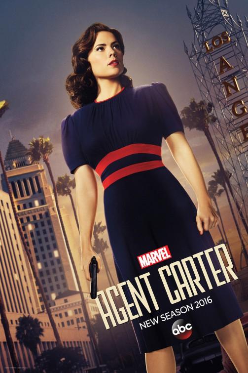 Marvel Agent Carter season 2 teaser poster