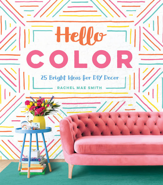 diy hello color by Rachel Mae Smith book