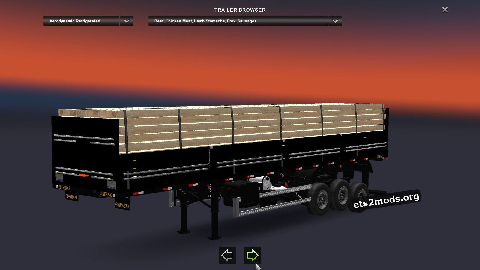 Trailer - Granel Black with Wood