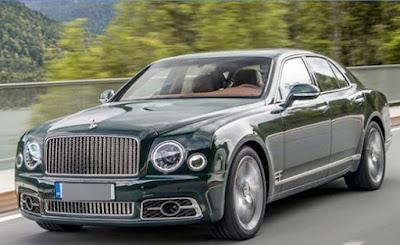 Mobil Mewah Kendaraan Beroda Empat Bentley Belum Bayar Pajak Ratusan Juta