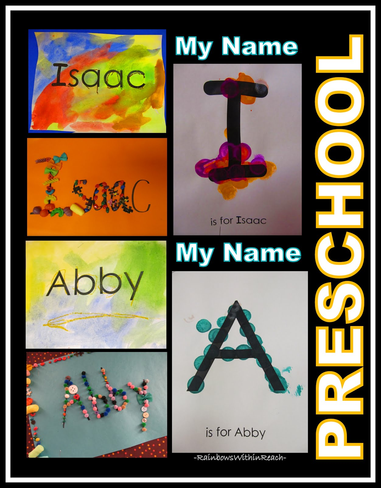 Rainbowswithinreach Name Recognition Art Literacy