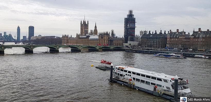 Passeio de barco pelo rio Tâmisa - O que fazer em Londres: 48 atrações imperdíveis