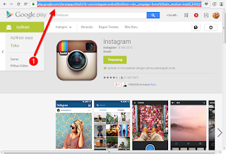 cara download aplikasi android apk di laptop, instagram terbaru, download instagram android apk