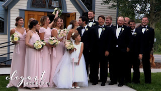 Elegant Productions Colorado Wedding Videography Father Dyer Church