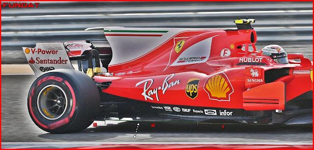 """Immagine 3 - Il fondo della Ferrari SF70H ha degli elementi """"mobili"""" nella parte esterna"""