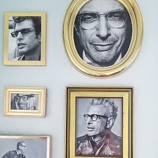 refabulous bathroom decor, jeff goldblum diy collection, thrifted