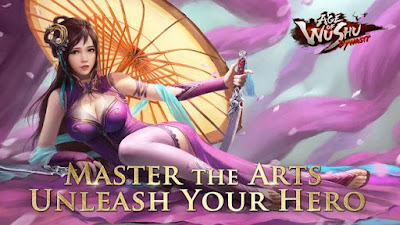Age of Wushu Dynasty v8.0.1 Apk Mod Mana/No Skill Cooldow