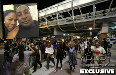 "Protest Arise After Shooting Of Unarmed Black Man  "" Keith Lamont Scott """