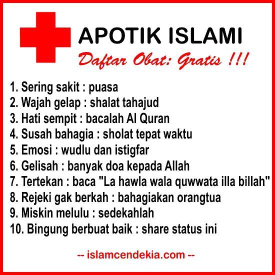 10 Daftar Penyakit Sehari Hari Dan Obat Yang Manjur Menurut Islam