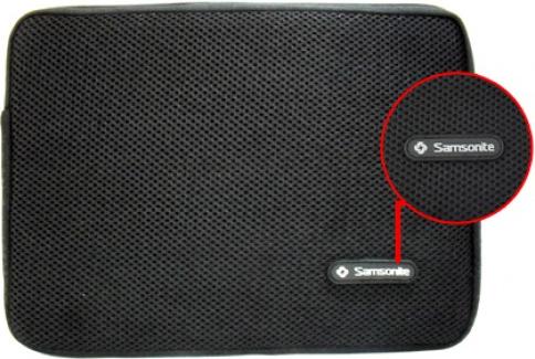 Túi chống xốc laptop Samsonite dây kéo  14,15 in giá rẻ nhất, bảo hành tốt nhất
