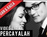 kunci gitar Percayalah Afgan featuring Raisa