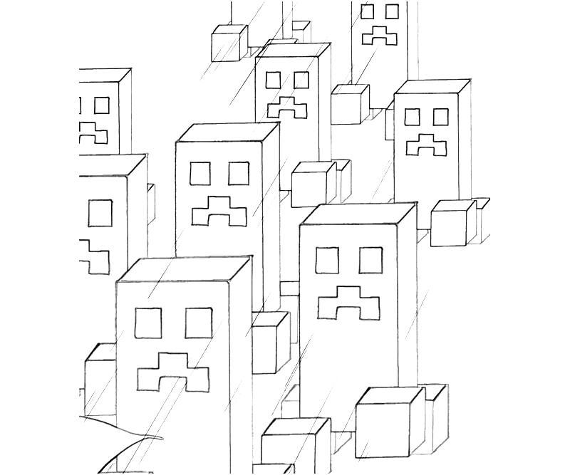 Minecraft Mining Yumiko Fujiwara
