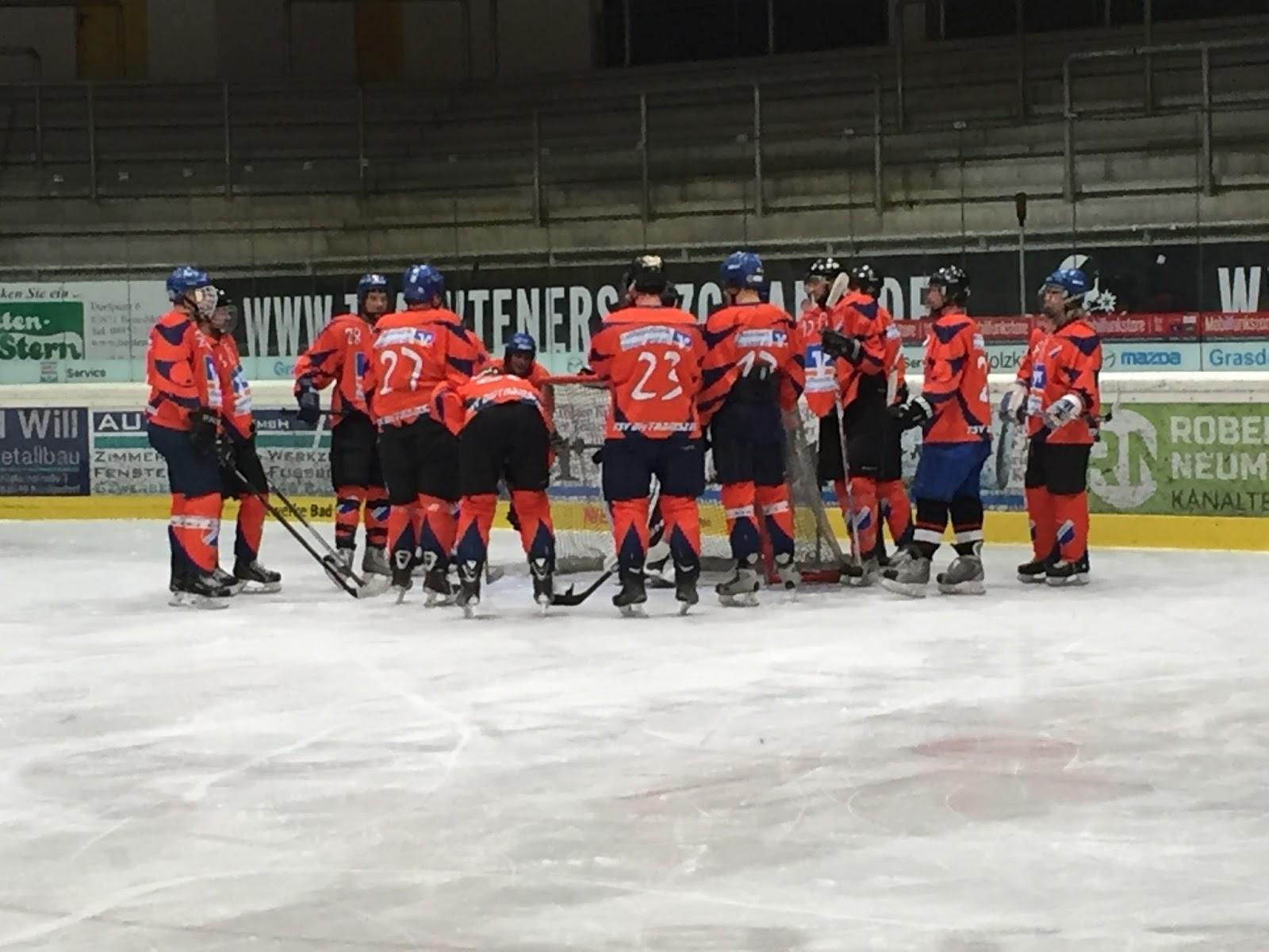 Eishockey Dietramszell: 15 Tore - Schützenfest im Halbfinale
