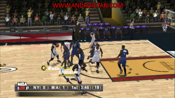 Download NBA 2K11 PSP/PPSSPP for Android