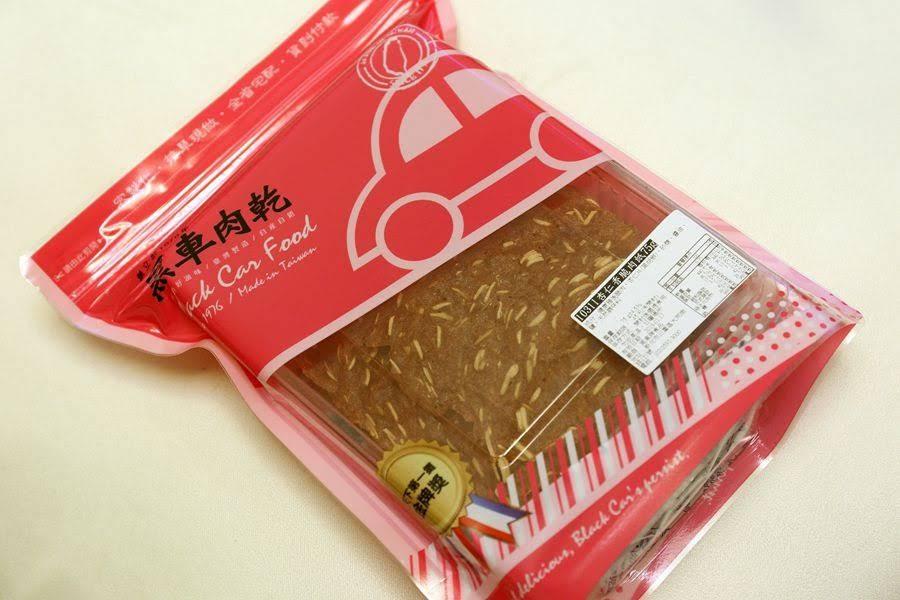 台北伴手禮-黑車肉乾