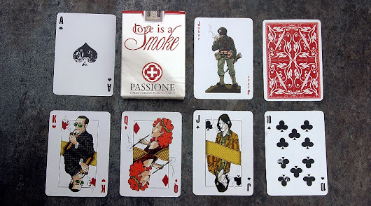 Deck View: Love is a Smoke Playing Cards