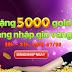 Tặng 5000 gold miễn phí khi chơi ionline