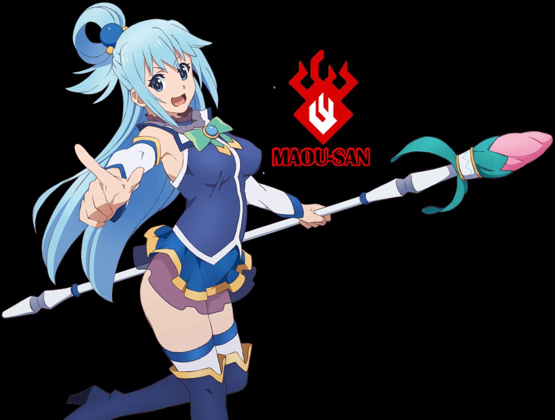 Aqua Konosuba!