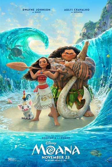 Disney movies, Pacific Islands culture, Dwayne Johnson