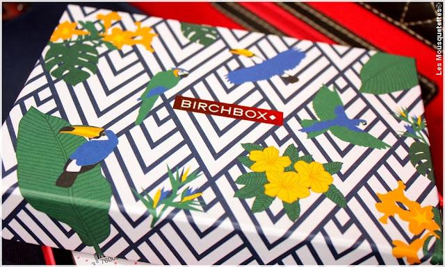 Birchbox août 2016 Viva Brazil - Blog beauté Les Mousquetettes©