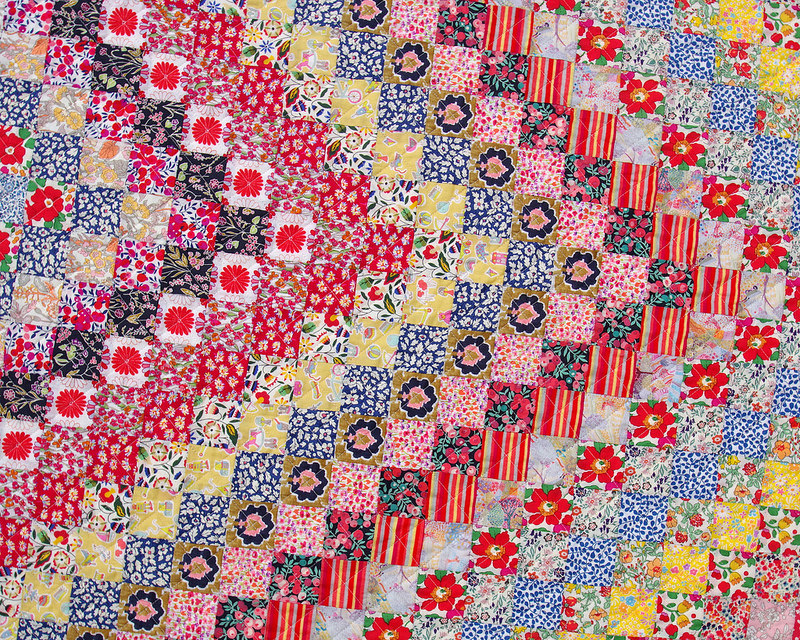 Liberty of London - Trip Around the World Quilt | © Red Pepper Quilts 2018