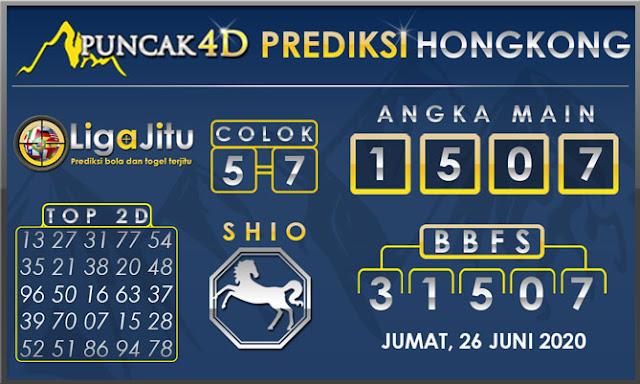 PREDIKSI TOGEL HONGKONG PUNCAK4D 26 JUNI 2020