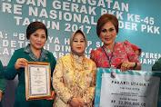 Hebat, TP-PKK Sulut Boyong Tiga Penghargaan Di Jambore Nasional 2017