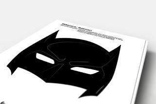Máscara de Batman para Imprimir Gratis.