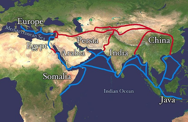 Infectious diseases were carried along the Silk Road