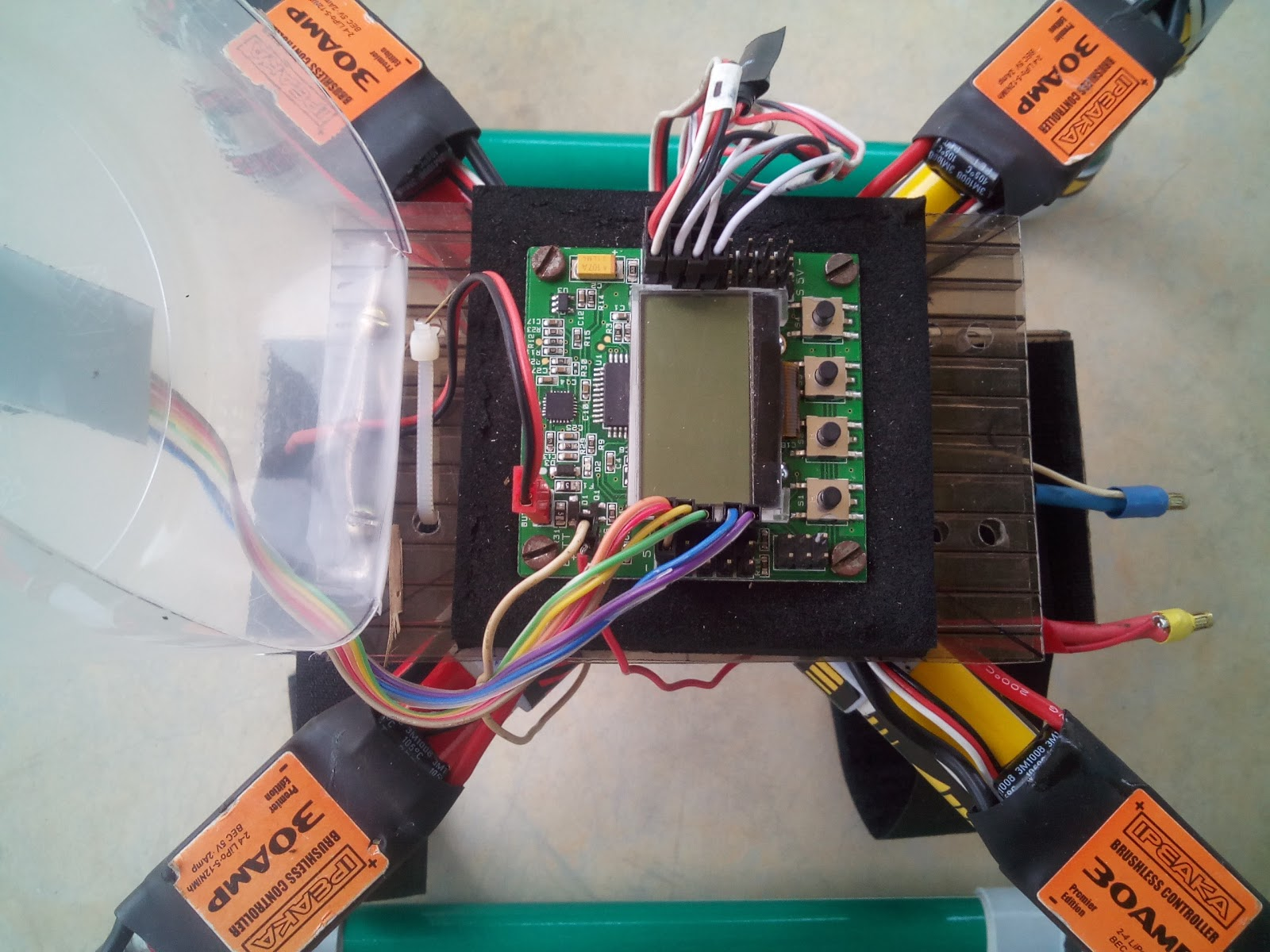 KK2.1.5 Flight Controller PI Tuning