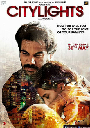 Poster of City Lights 2014 Full Hindi Movie Download HDRip 720p, city lights 2014 full Hindi Movie Download Hd Filmywap Worldfree4u In Hindi Bollywood Watch Online