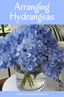 Arranging Hydrangeas