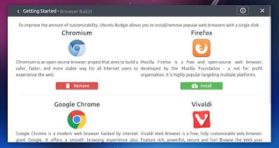Ubuntu Budgie Zesty Zapus