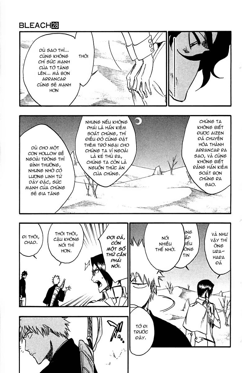 Bleach chapter 245 trang 17