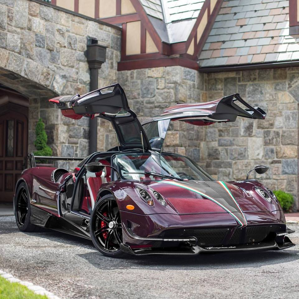 latest pagani huayra bc comes to us bathed in red carbon