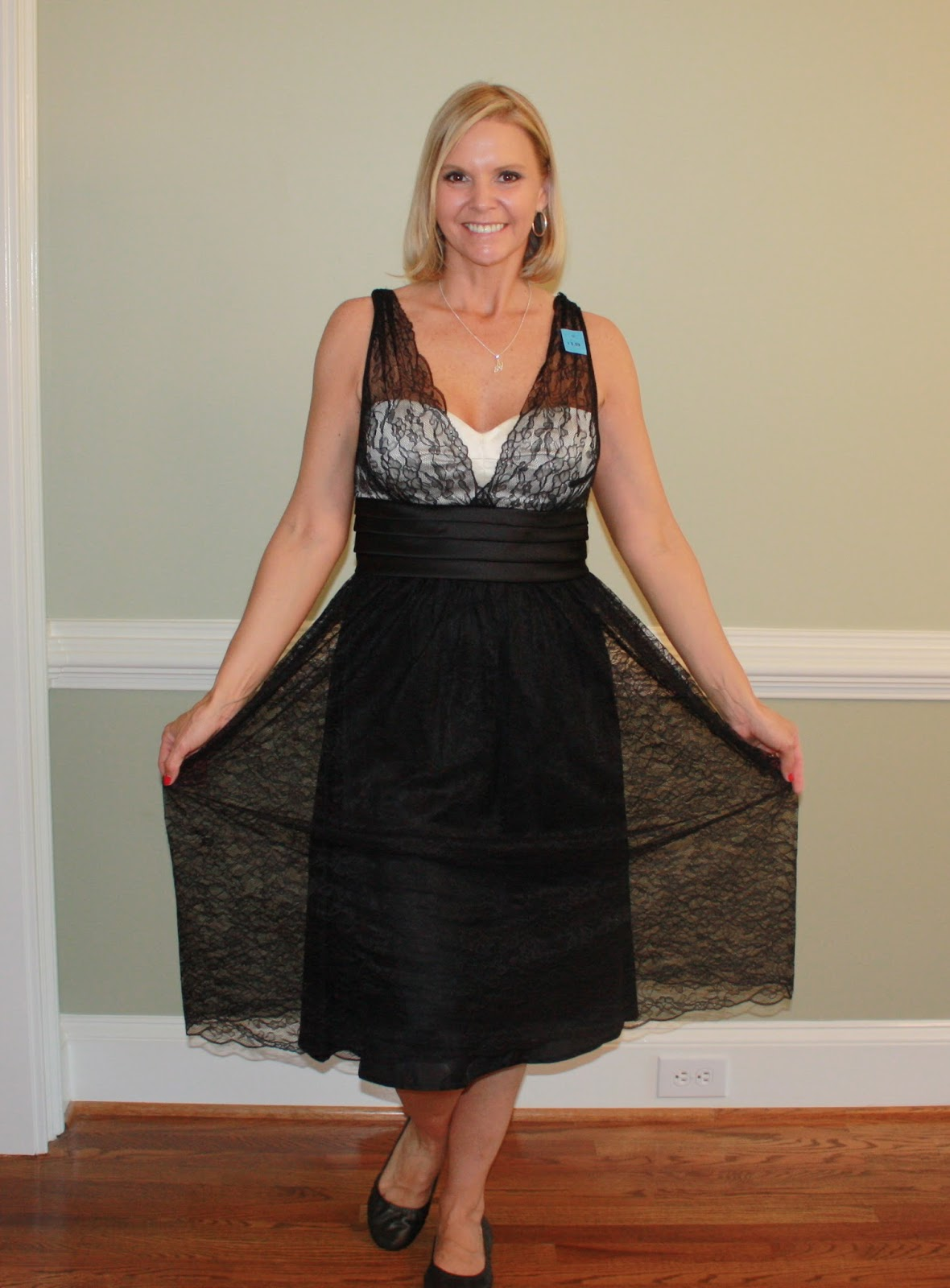 Fashion Toppings: Thrift Store Prom Dress Refashioned into ...