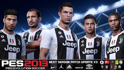 PES 2013 Next Season Patch 2019 Update v3.0 Season 2018/2019