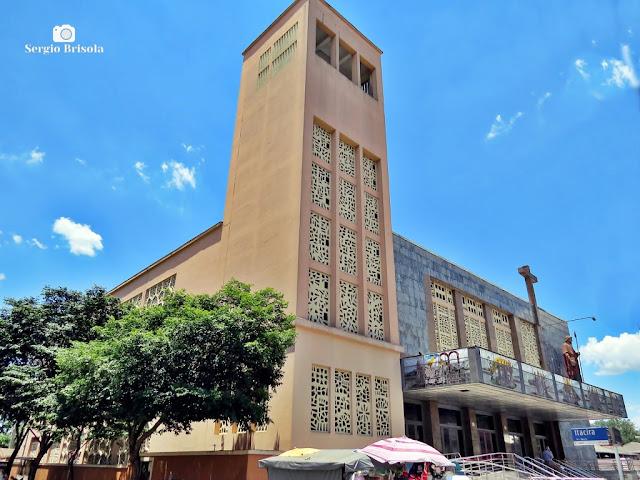 Vista ampla do Santuário São Judas Tadeu (Igreja nova) - Jabaquara - São Paulo
