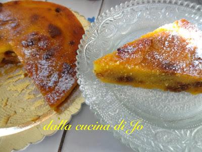 torta di mais e fichi secchi