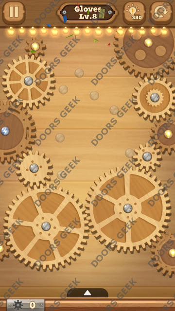 Fix it: Gear Puzzle [Gloves] Level 8 Solution, Cheats, Walkthrough for Android, iPhone, iPad and iPod