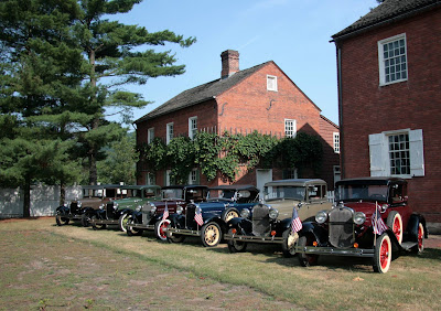 Antique cars at Old Economy Village