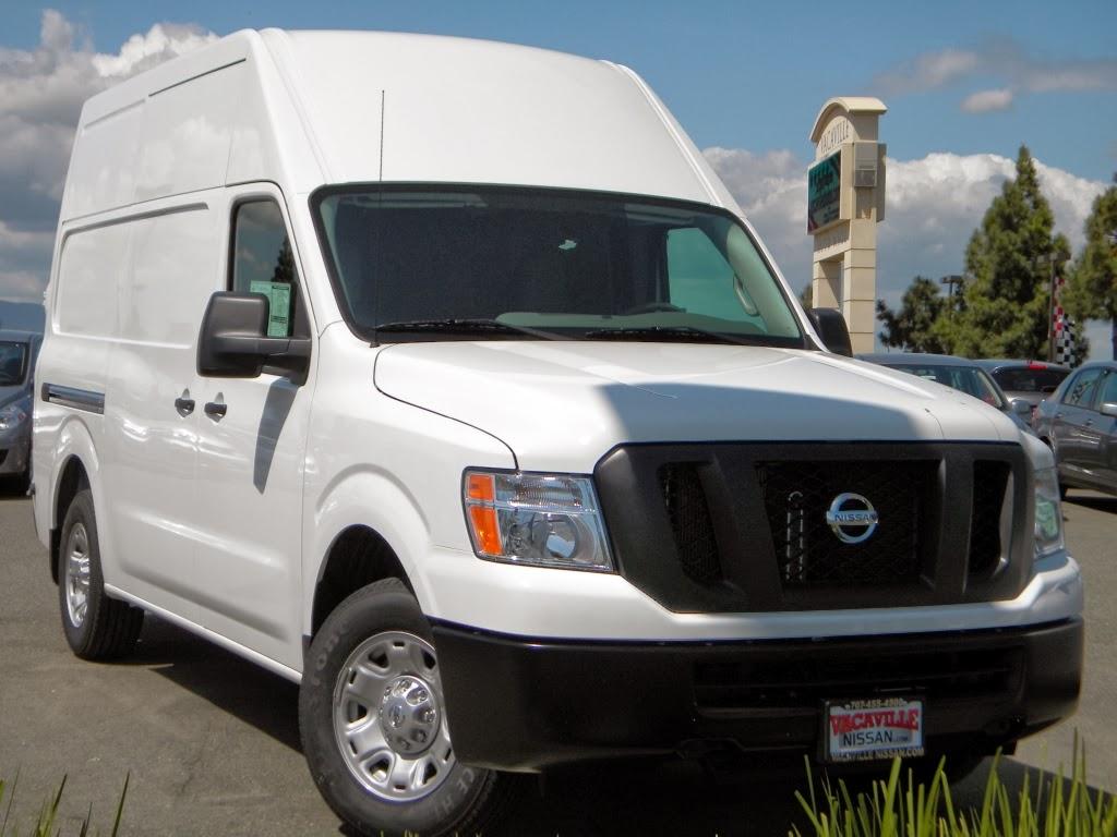 Work Vans For Sale >> Vacaville Nissan Fleet: Vacaville Nissan NV Cargo Van of the Week