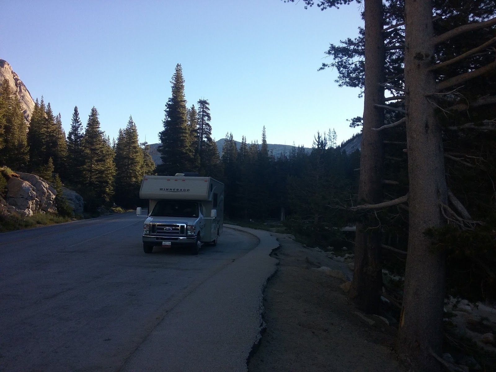 Tioga Pass Still Closed
