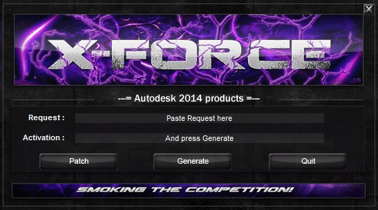 Activate Autodesk Products 2014[X FORCE Keygen] Full (Windows / MAC OSX)  Free