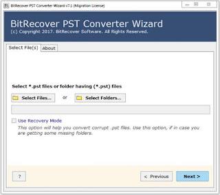 BitRecover PST Converter Wizard 7.1 Full Version