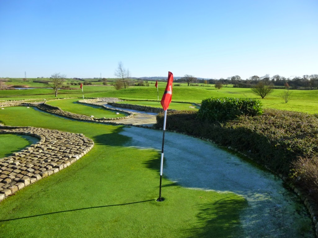 Mini Golf at Dunton Hills Family Golf Centre in West Horndon, Essex