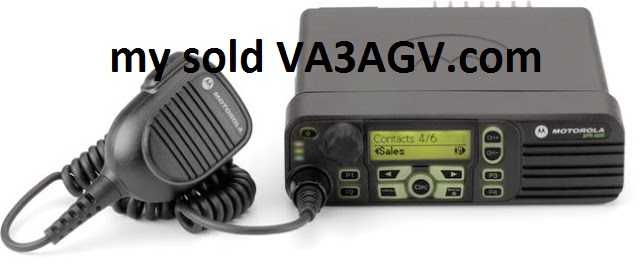 sold - Motorola XPR4550 MOTOTRBO UHF - CANADA